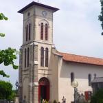 L'église de Bassussarry